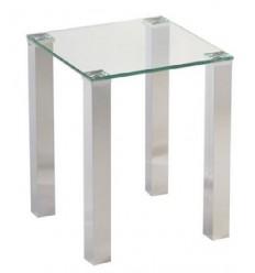 Mesa rincón cristal moderna de Camino a casa - TOWER