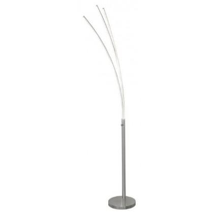 Lámpara de pie arco con 3 difusores led moderna AJP - ELAZ