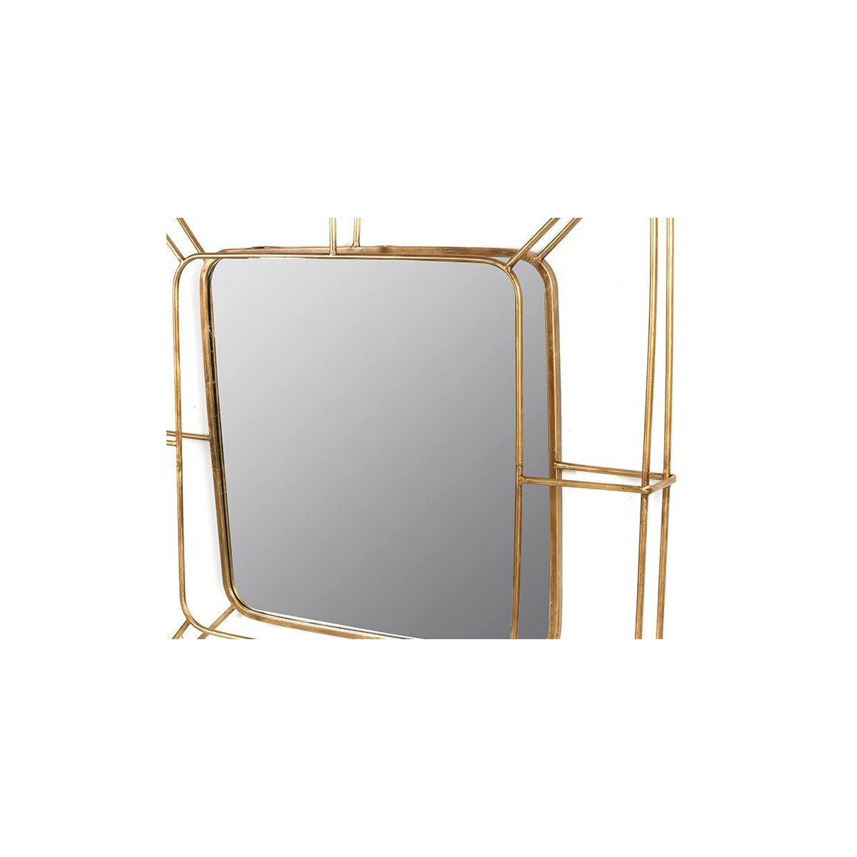 Espejo moderno dorado de santiago pons dry gold for Santiago pons decoracion