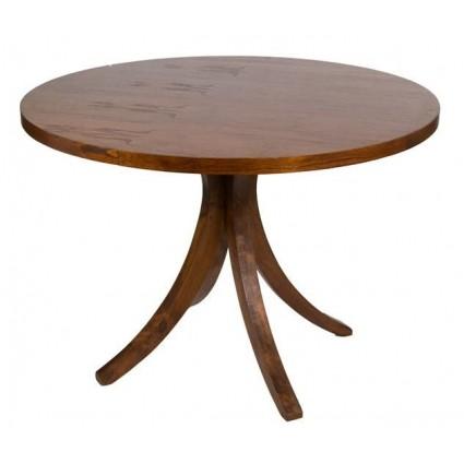 Mesa redonda madera de Santiago Pons - CLAUDIA