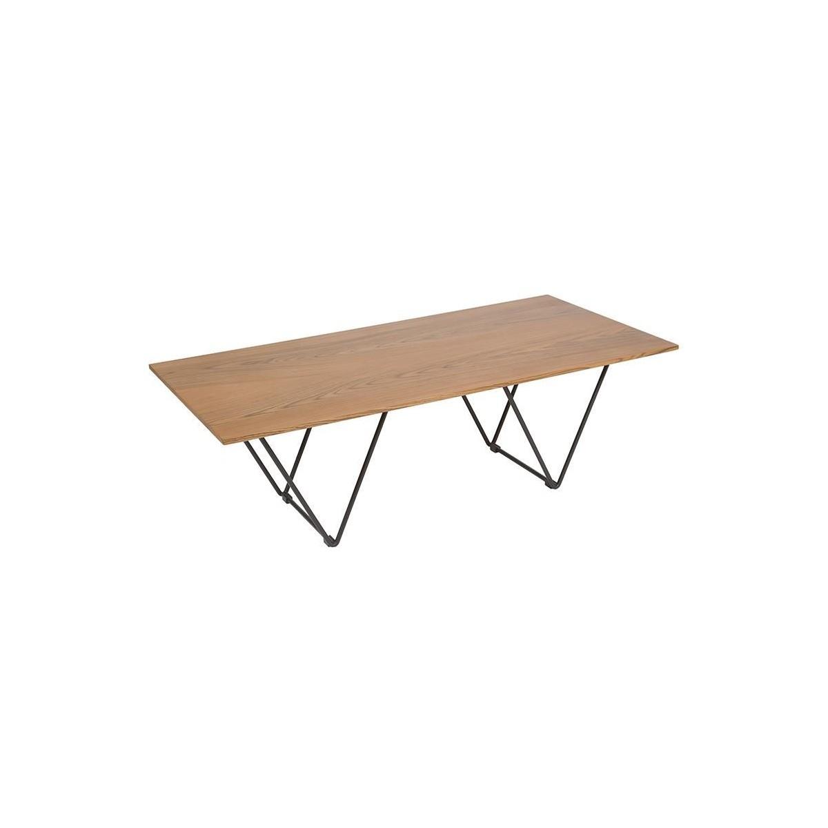 Mesa de centro vintage madera de santiago pons escala for Mesa vintage madera
