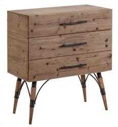 Mesita de noche colonial madera de Vical Home - LINZ