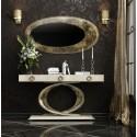 Consola y espejo moderna C28 de Franco Furniture - AZKARI