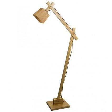 Lámpara de pie de madera de Santiago Pons - LAYA