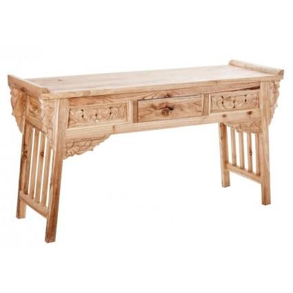 Consola recibidor oriental de madera de Vical Home - LAHTI