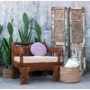Sillón estilo oriental madera de Vical HOme - MURZUK