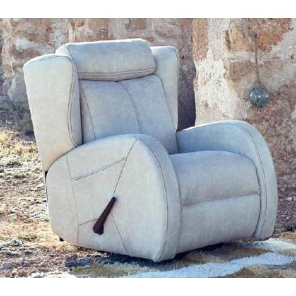 Sillón relax color Piedra de Monterelax - TURCA