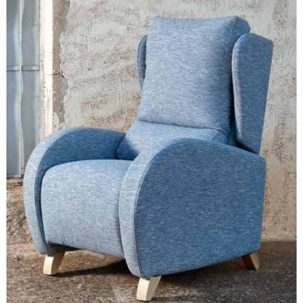 Sillón relax color azul de Monterelax - MIMO
