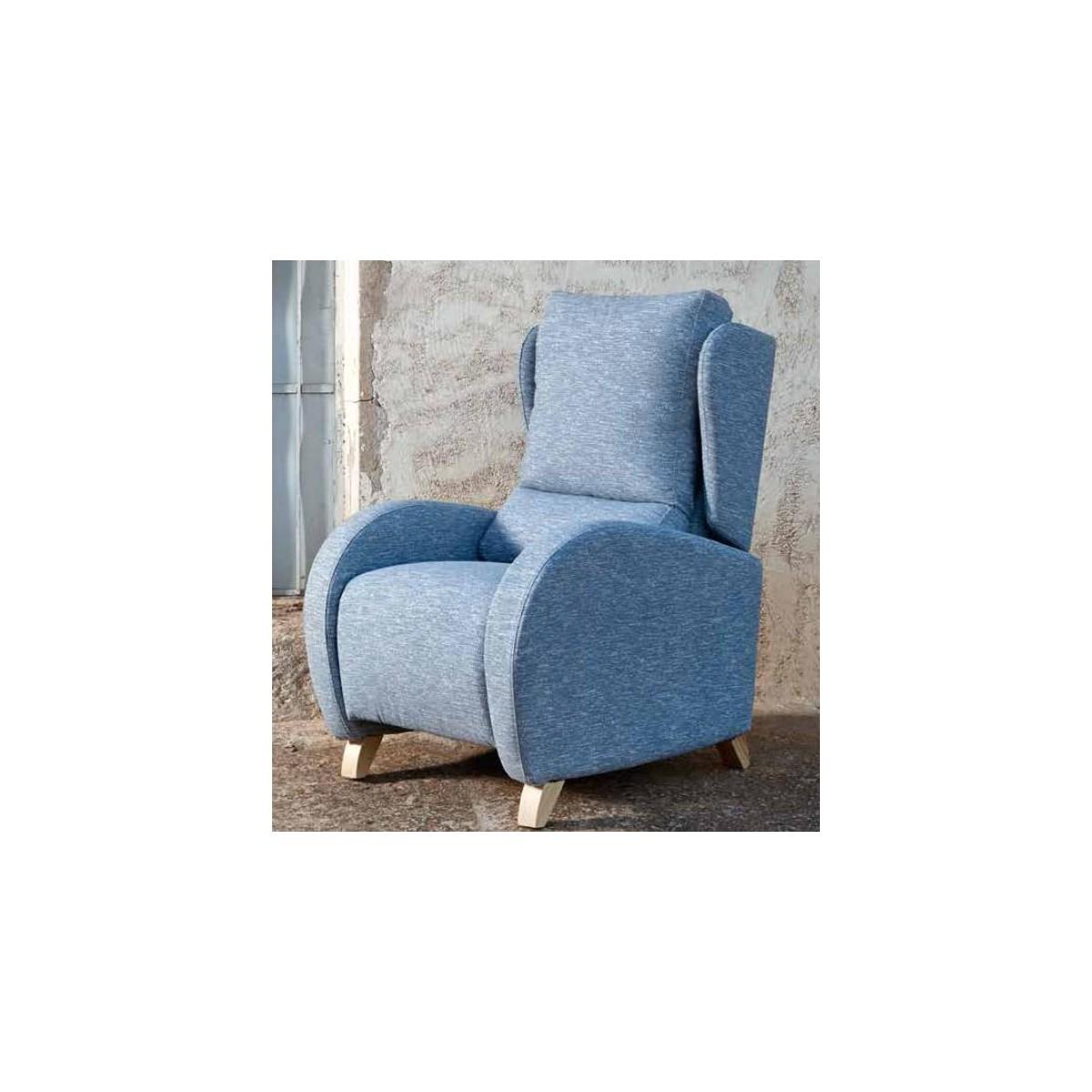 Sillón relax color azul de Monterelax - MIMO 735d7e6629