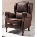 Sillón clásico marrón de Monterelax - NAVY