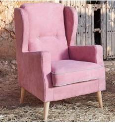 Sillón moderno rosa de Monterelax - OMAR
