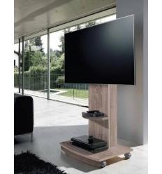 Mueble de Televisión moderno color madera de Pelayo - DYLAN