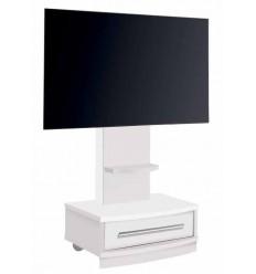 Mueble de Televisión blanco con cajón de Pelayo - DYLAN