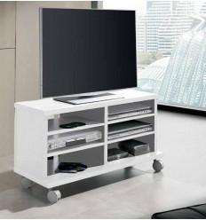 Mueble de Televisión blanco de Pelayo - KERN