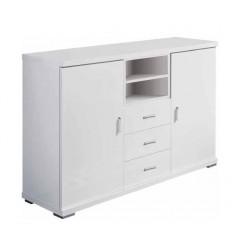 Mueble de Televisión color blanco de Pelayo - NUENDO