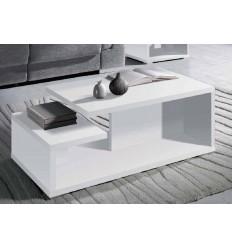 Mesa de centro moderna blanca de Pelayo - CALMA