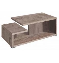 Mesa de centro moderna color madera de Pelayo - CALMA