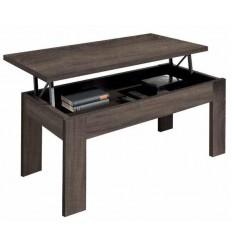 Mesa de centro abatible color madera de Pelayo - AIOWA