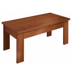 Mesa de centro abatible color cerezo de Pelayo - AIOWA