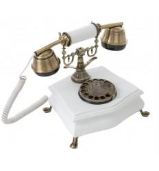 Teléfono clásico blanco de Burkina Home - ANNE