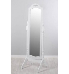 Espejo de pie vintage blanco de Garpe - EVA