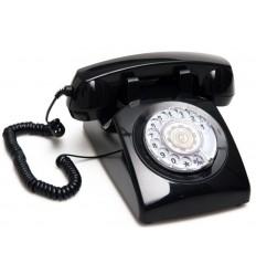 Teléfono vintage negro - TAILOR