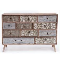 Mueble vintage de madera de pawlonia de Burkina Home - BALI