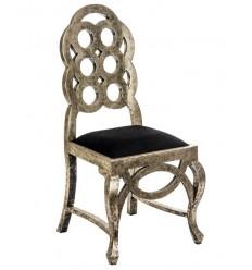 Silla estilo art deco oro y negro de Vical Home - ANTONY