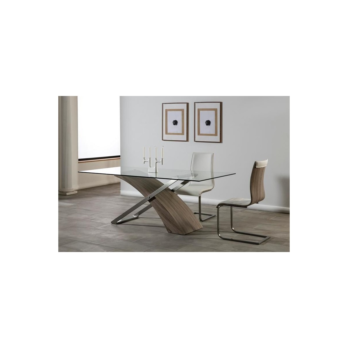 Mesa de comedor moderna de Marckeric - ARAMIS