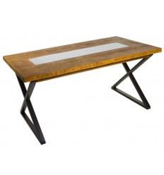 Mesa de comedor estilo Shabby Chic de madera de Santiago Pons - NARA