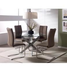 Pack Ahorro 1 mesa redonda + 4 sillas de Marckerik