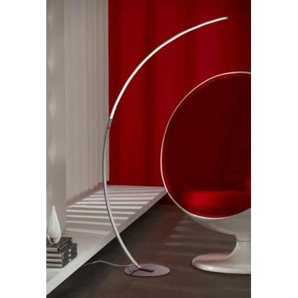 Lámpara Led de pie moderna forma curva de Schuller - TRAZO