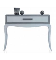 Consola de estilo provenzal moderno blanco y gris de Cubimobax - TANSI