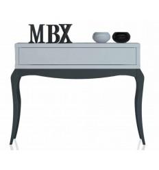 Recibidor estilo provenzal blanco y grafito de Cubimobax - ATLAS