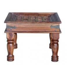 Mesa de centro de madera de palisandro estilo oriental - CASHIR