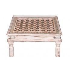 Mesa de centro de madera de mango estilo oriental - IRASH