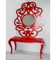 Pack ahorro mueble recibidor + espejo de Burkina Home - GALATEA
