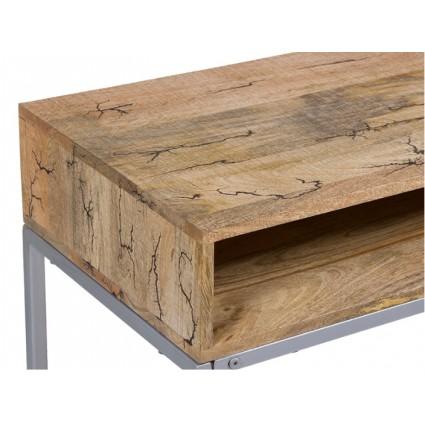Consola retro madera y hierro - ELECTRO