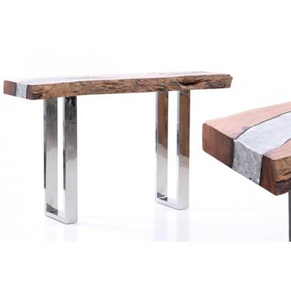 Consola madera y aluminio - WOOD