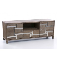 Mueble de Televisión estilo industrial de madera - BAVIERA