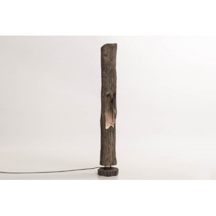 Lámpara de pie de madera - TRUNK