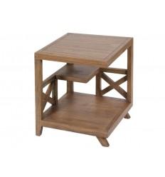 Mesa rinconera estilo colonial madera - AMARA
