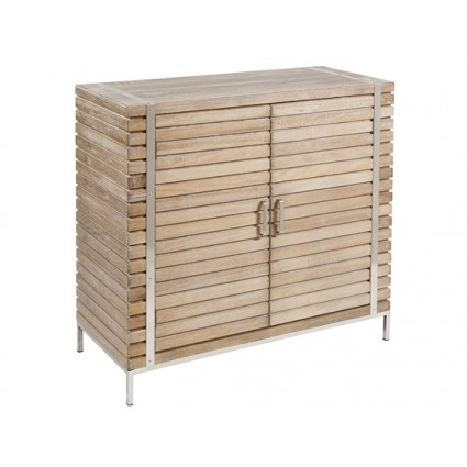 Aparador estilo industrial madera y acero - PARMA