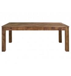 Mesa de comedor de estilo rústico de madera reciclada - BUNTA
