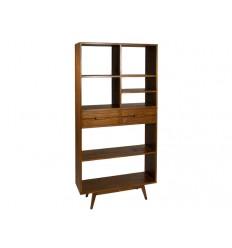 Estantería librería de estilo colonial de madera - MIAMI
