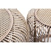 Set mesas auxiliares de bambú - JUNGLE