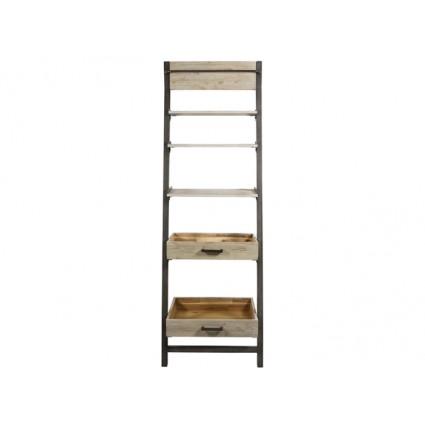 Estantería librería estilo industrial escalera - TUNDRA
