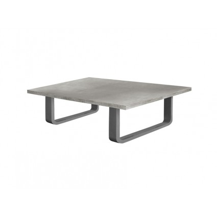 Mesa de centro estilo industrial gris - MADISON