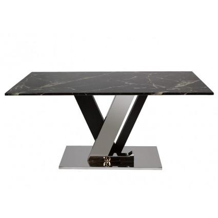 Mesa de comedor de mármol - LAS VEGAS