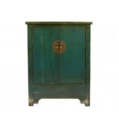 Armario de estilo oriental dos puertas azul - KAGU